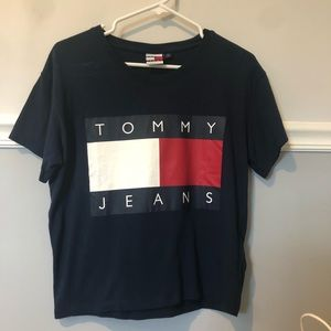 UO x Tommy Jeans Navy Tee